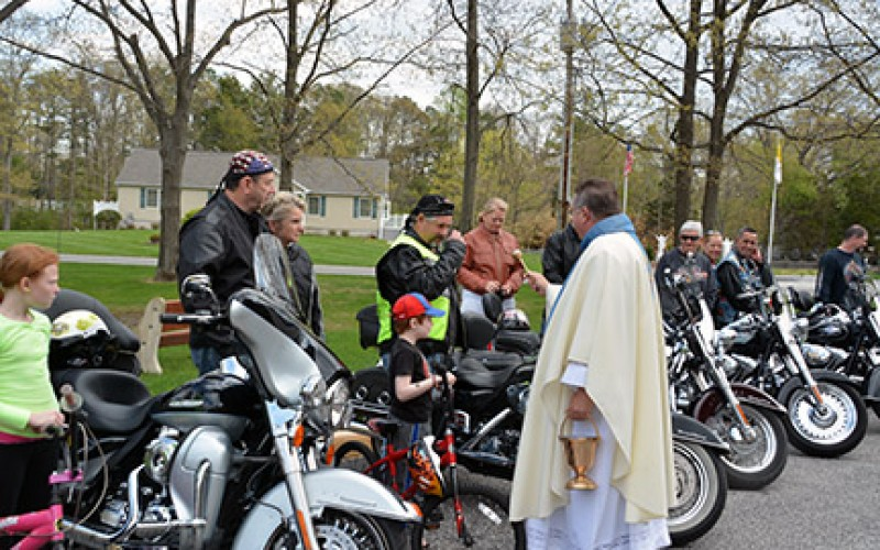 The blessing of the bikes