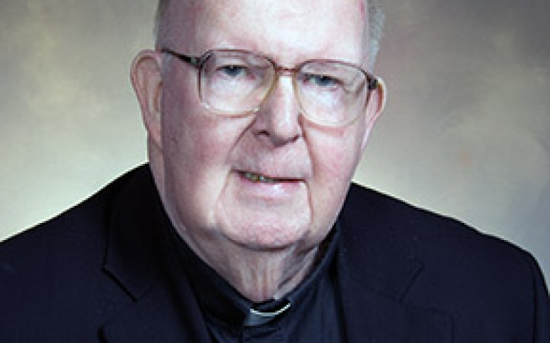 Msgr. Fitzsimmons, canon lawyer and pastor, dies