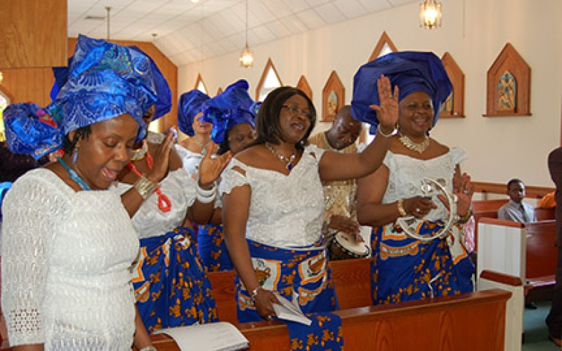 Igbo Catholics celebrate Mother's Day