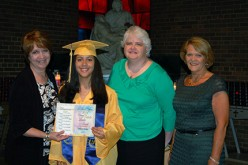 Camden student presented with Young Catholic Leader Award