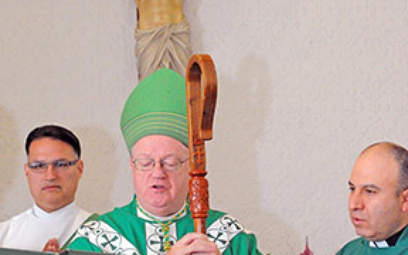 Bishop commissions members of Hispanic Ministry Commission