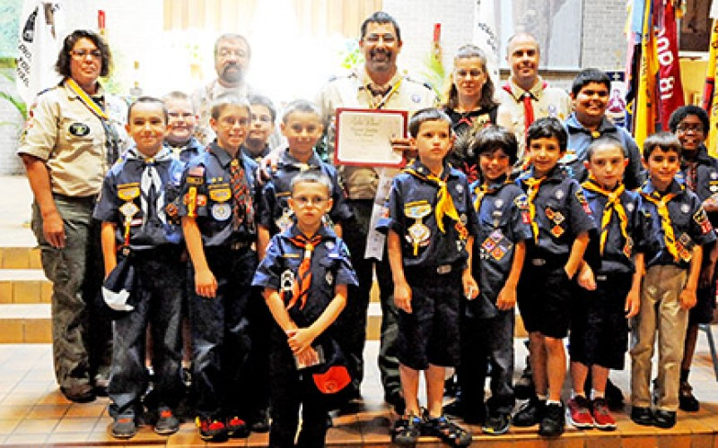 Annual Scouting Awards Ceremony