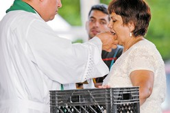 Misa para los trabajadores agrícolas