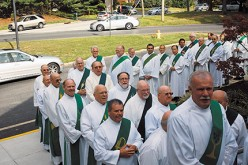 Deacons attend a day of formation and prayer
