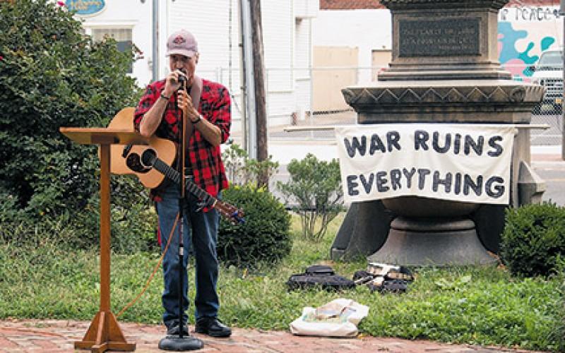 Peace rally held in Camden
