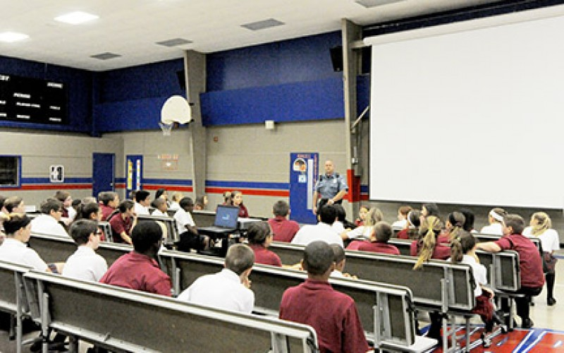 School organizes service projects on 9/11anniversary