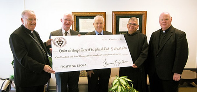 Diocese helps brothers care for Ebola victims