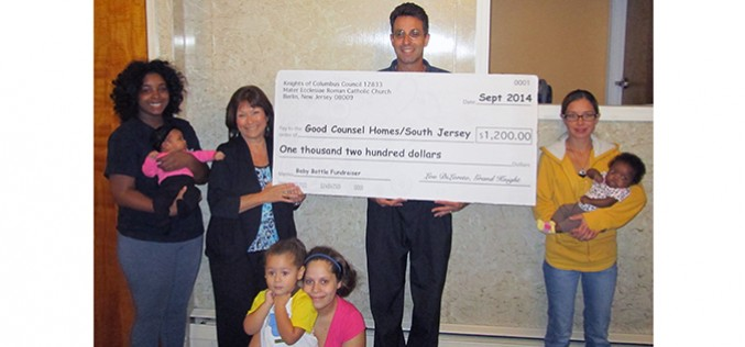 Good Counsel donation