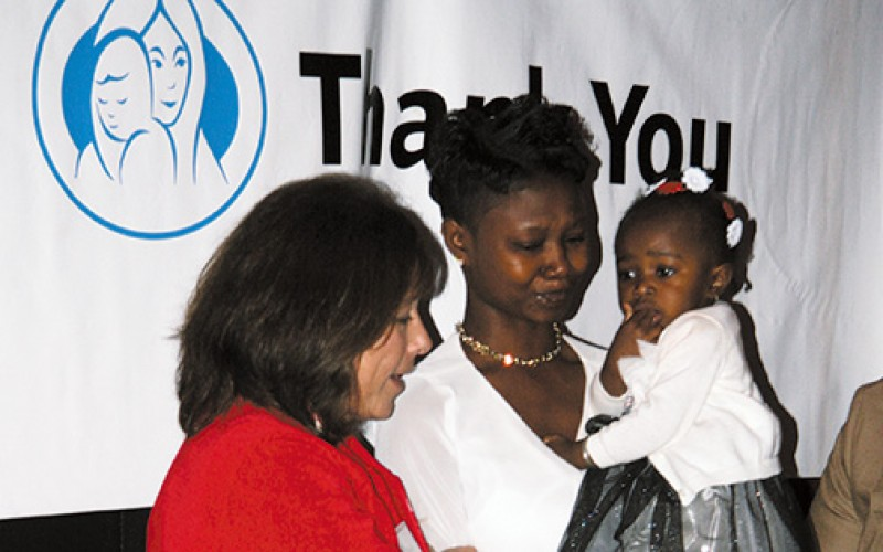 A mother tells her story at Good Counsel fundraiser