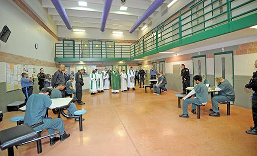 Mass for inmates and staff at Salem jail | Catholic Star Herald