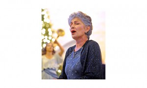 Rosemary Alvino sings at a Christmas concert Dec. 7 at St. Michael Church, Minotola. Originally from Malaga, Alvino has performed with opera companies throughout the United States, and sang before St. John Paul II at the Vatican in 1998. For the past seven years Alvino has made her home in Cuernavaca, Mexico, where she has a voice studio.  Photo by Alan M. Dumoff, more photos, http://ccdphotolibrary.smugmug.com