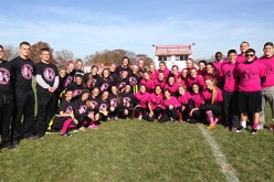 Powder Puff football for charity
