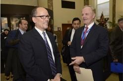Lourdes recibe a Thomas Perez, Secretario del Trabajo de EE.UU. y a otros líderes de la comunidad