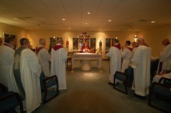 Mass at Sacred Heart Residence