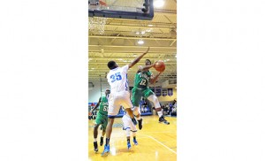 Camden Catholic (Cherry Hill) beat the home team of Paul VI (Haddon Heights) 70-48 on Feb. 19. Photo by Alan M. Dumoff