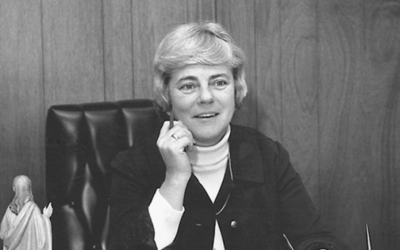 Lourdes Health System mourns passing of former president Sister M. Elizabeth Corry