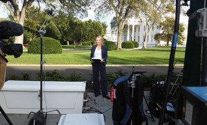 Susanne LaFrankie, a parishioner of Christ the King, Haddonfield, and former anchor/reporter for WPVI-TV Action News, is now Chief White House Correspondent for the Eternal Word Television Network.