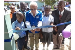 Local man helps build school in Haiti
