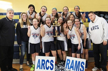 ARC girls first in league