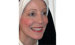 Nancy Scimone as St. Faustina