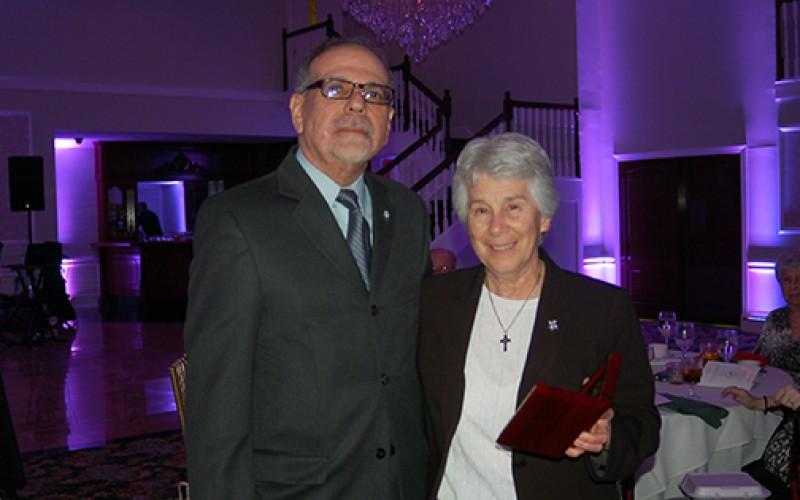 Sister receives humanitarian award