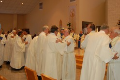Bishop ordains nine deacons for the diocese