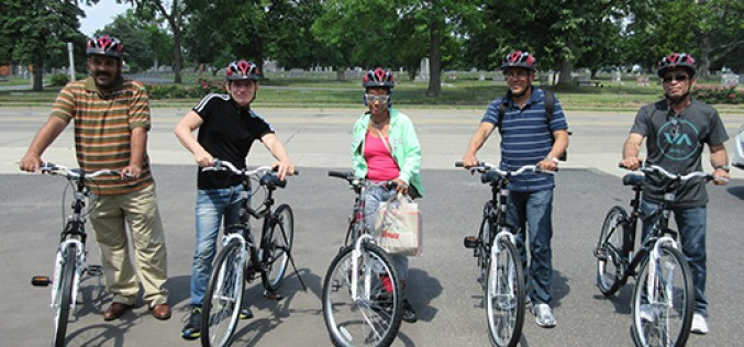 Peddling their way to self-sufficiency