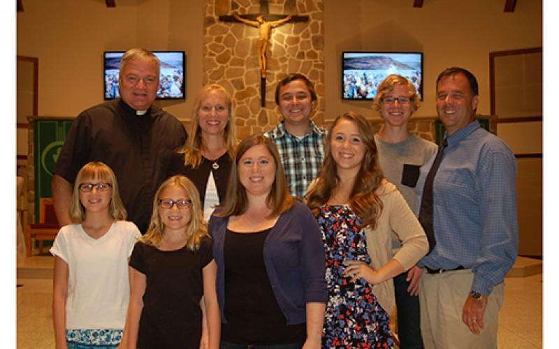 A large family of faith and stewardship