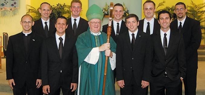 New Seminarian Candidates