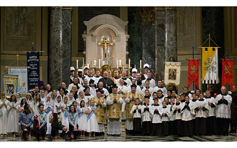 Mater Ecclesiae's Solemn Mass of the Assumption