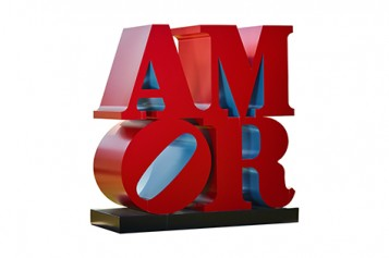 'Love' in Latin and Spanish, and colorful aluminum