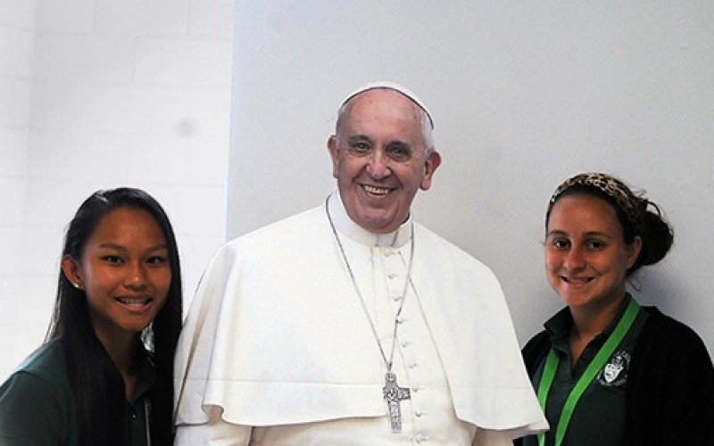 Students to attend papal Mass in New York