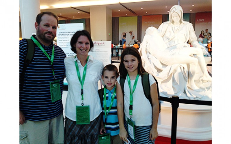 Diocesan families reflect on World Meeting impact
