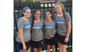 Field Hockey is a family affair for four Paul VI High School, Haddon Township cousins, who all play together: Grace Donnelly (Class of 2016); Jacqueline Knapp (2017); Julia Bruno (2019); and MaryKate Donnelly (2018).