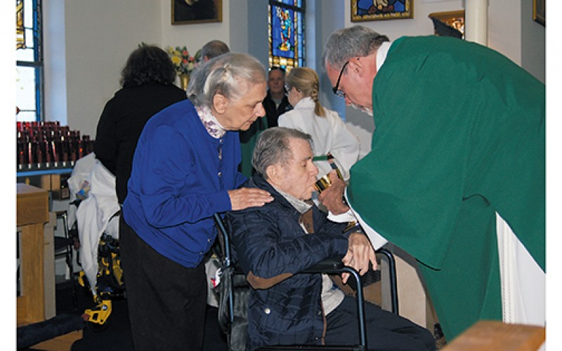 Mass for the afflicted, caregivers