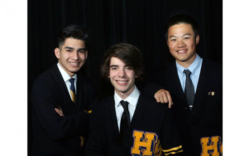 Students to share stage with New York Tenors