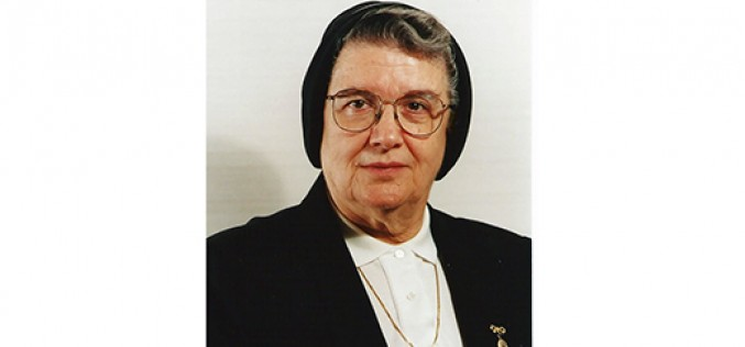 Sister Marian Ingellis, former English teacher, dies