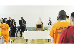 Bishop celebrates Mass at Camden County Correctional Facility