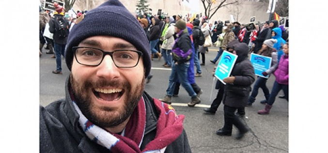 Dispatch from a snowy, joyful March for Life