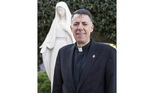 Msgr. James F. Checchio, a priest of the Camden Diocese and rector of the Pontifical North American College in Rome, returns to the United States Jan. 30, finishing a 10-year stint at the helm of the seminary. He is pictured in a Jan. 18 photo.  CNS photo/Robert Duncan
