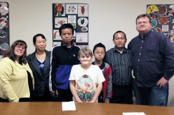 Easing the way for a refugee family