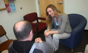 Elizabeth Otto is one of the counselors who works for Catholic Charities, Diocese of Camden. Photo by Joanna Gardner