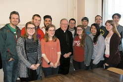 Bishop meets with National Evangelization Team members