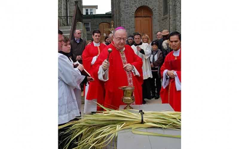 Palm Sunday, Chrism Mass, Holy Thursday