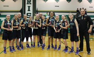 Saint Peter Saints (Merchantville) became 2016 Catholic League Girls' Basketball Champions by defeating Saint Joan of Arc (Marlton) 42-29. The game was played March 6 at Camden Catholic High School, Cherry Hill.
