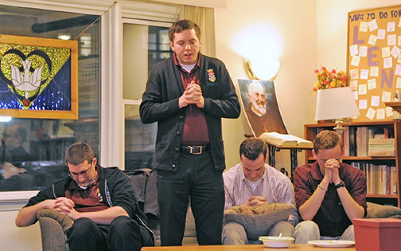 Seminarians share their stories with Rowan students