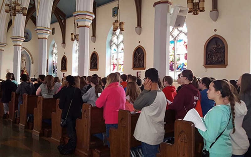 Atco students pray in Camden and Philadelphia