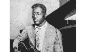 The only known photograph of Blind Willie Johnson, one of many musicians who will be featured in a presentation at Blessed Teresa Parish, Collingswood, on April 24.