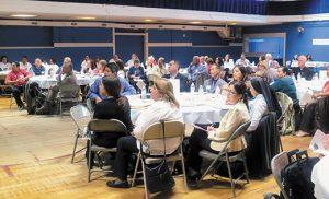 Representantes de siete diócesis asisten a un taller regional en la Catedral de Trenton en preparación para el V Encuentro Nacional del Ministerio Hispano en el 2018