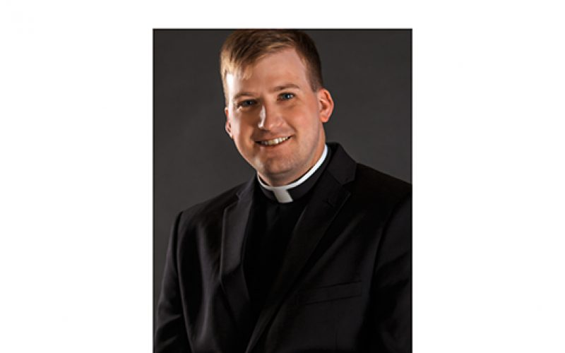 Bishop to ordain Adam Cichoski a transitional deacon
